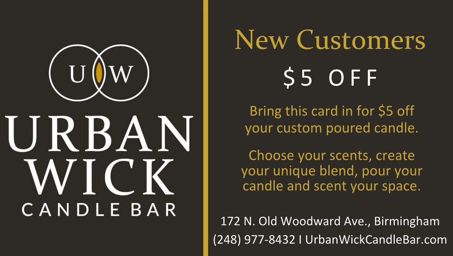 Fantastic Specials At Urban Wick!