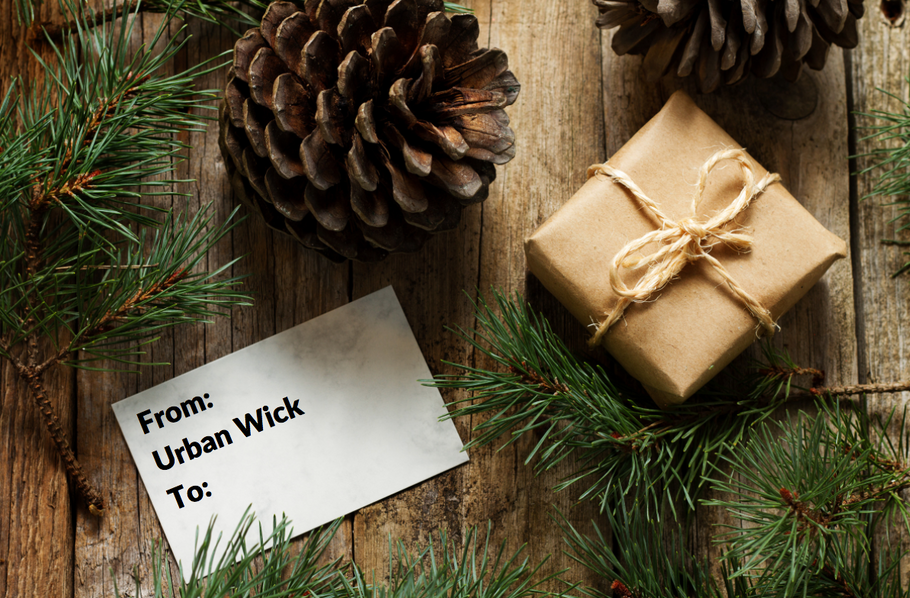 Urban Wick Gift Cards Make SCENT-sational Holiday Gifts!