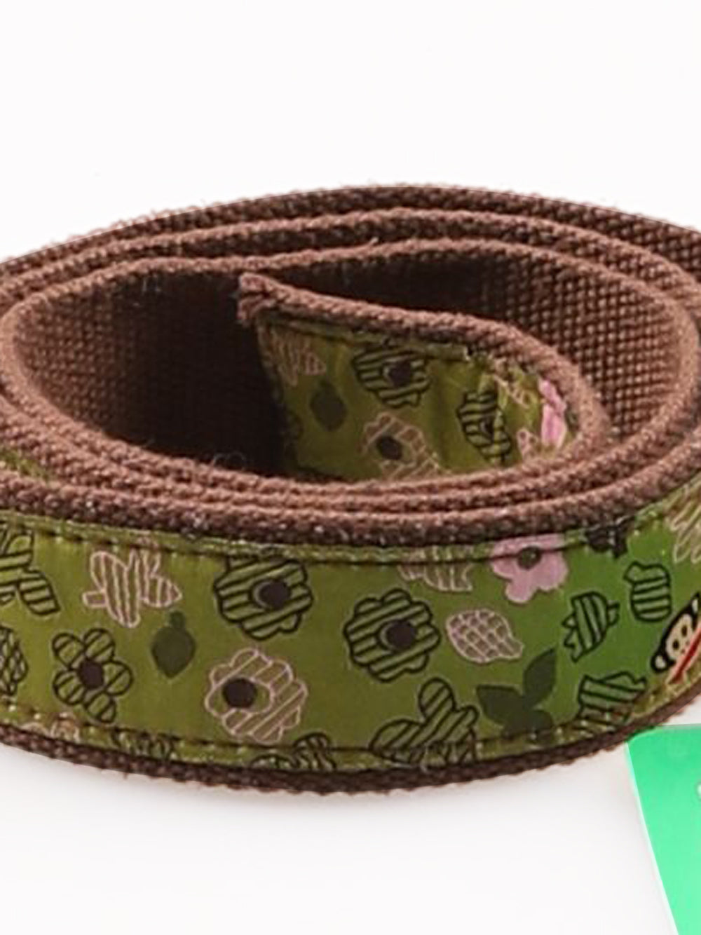 Detail photo of Preloved Paul Frank Green Woman's belt - size one-size