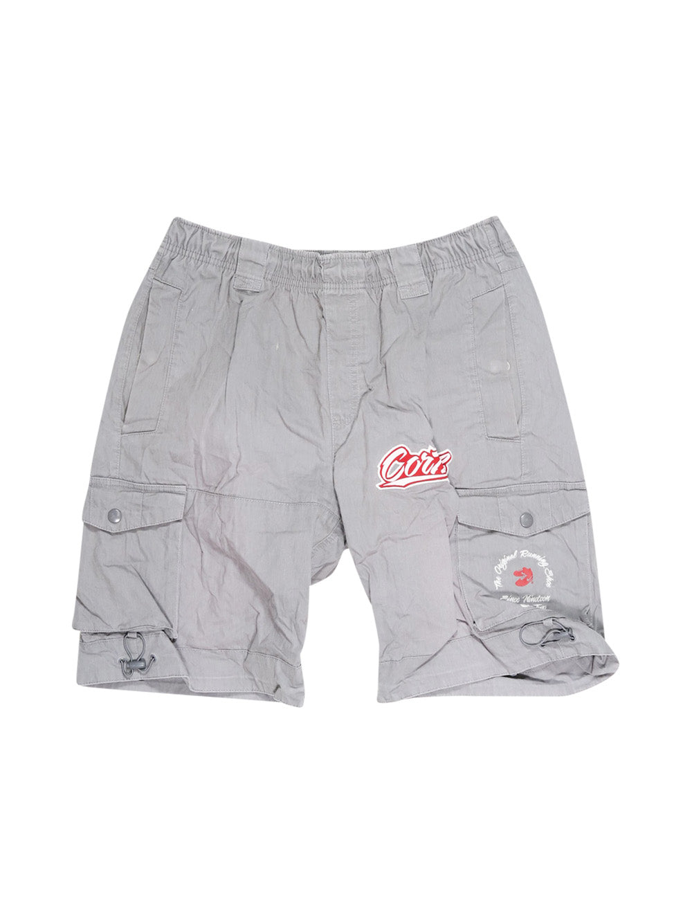 Front photo of Preloved Nike Grey Man's shorts - size 38/M