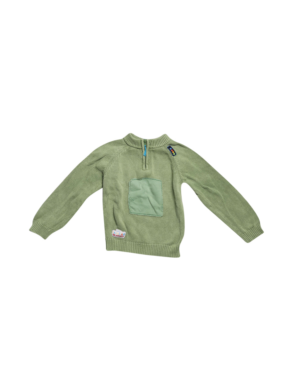 Front photo of Preloved Disney Green Boy's sweater - size 3-4 yrs