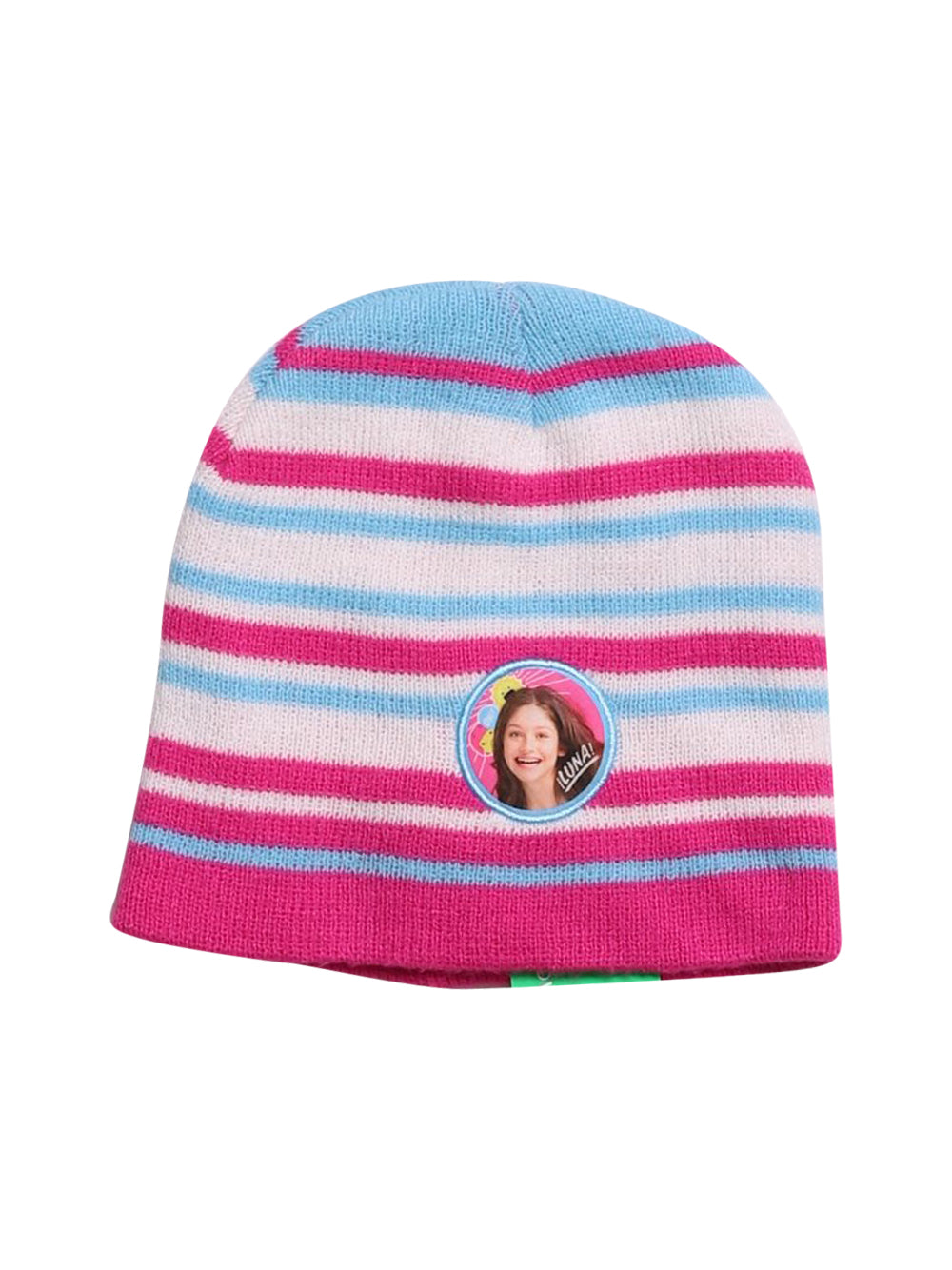 Front photo of Preloved Disney White Girl's hat - size 3-4 yrs