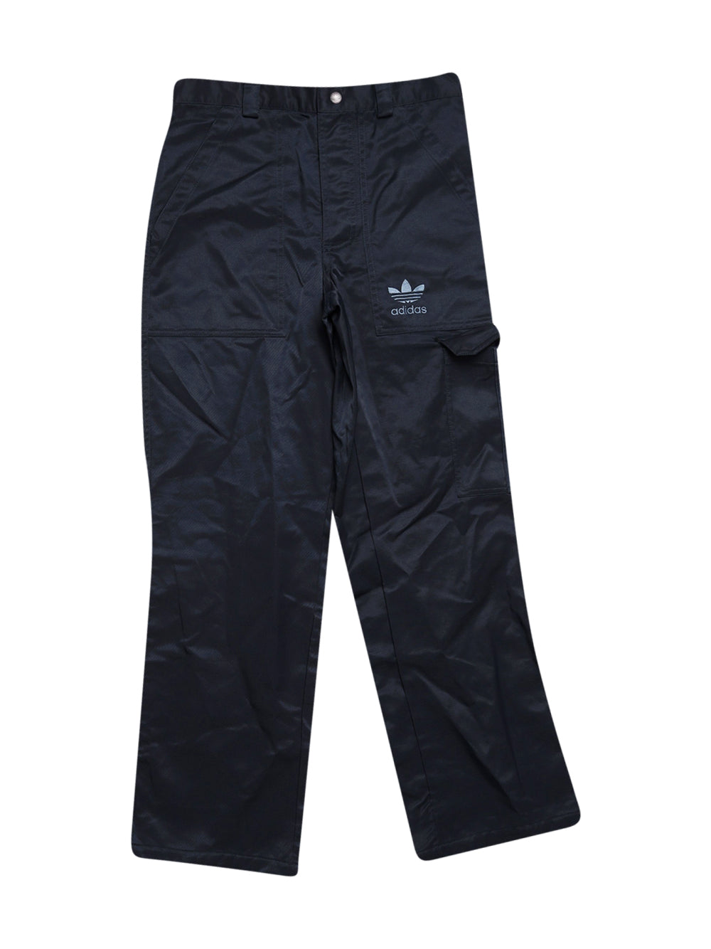 Front photo of Preloved Adidas Blue Man's trousers - size 34/XS