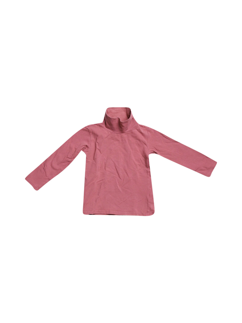 Front photo of Preloved Chicco Pink Girl's long sleeved shirt - size 18-24 mths
