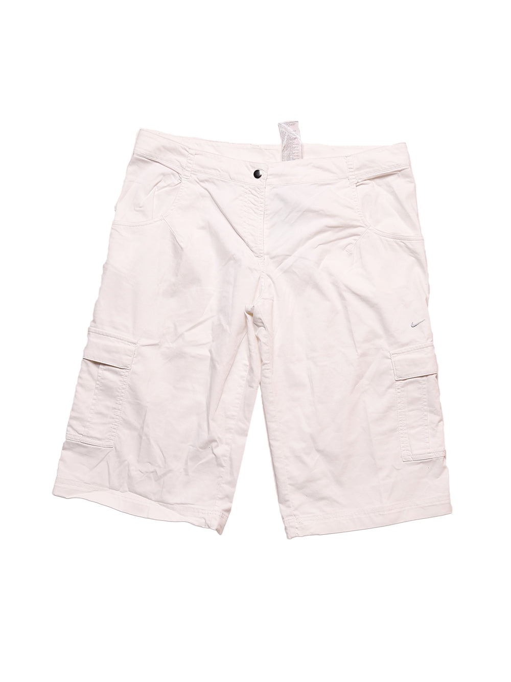Front photo of Preloved Nike White Man's shorts - size 36/S