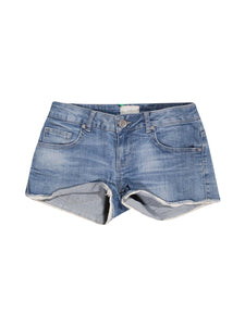 Front photo of Preloved Motivi Blue Woman's shorts - size 8/S