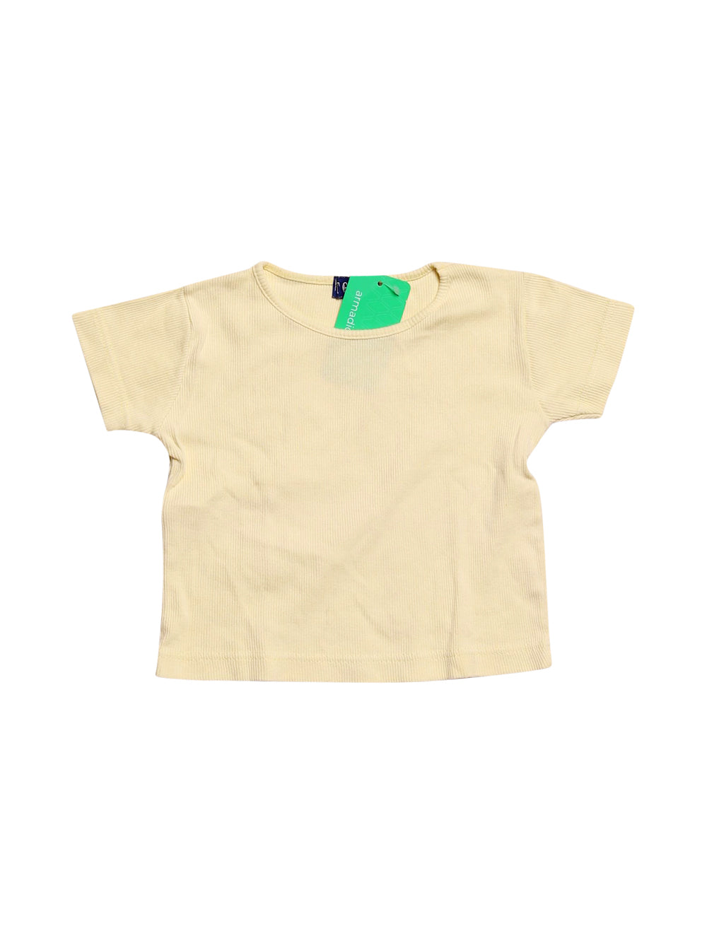 Front photo of Preloved today Yellow Girl's t-shirt - size 2-3 yrs