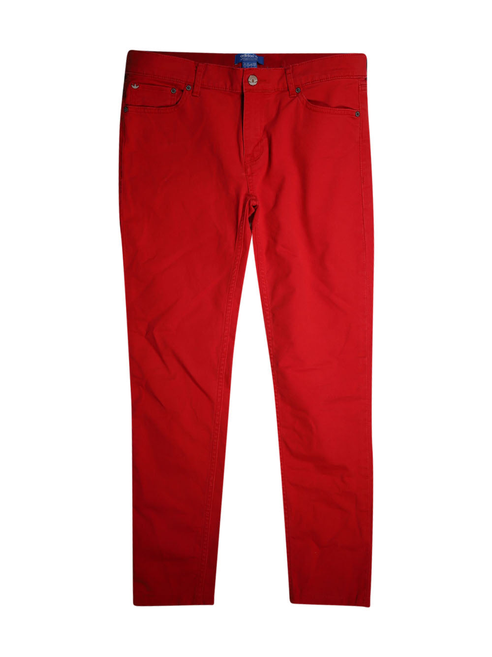 Front photo of Preloved Adidas Red Man's trousers - size 36/S