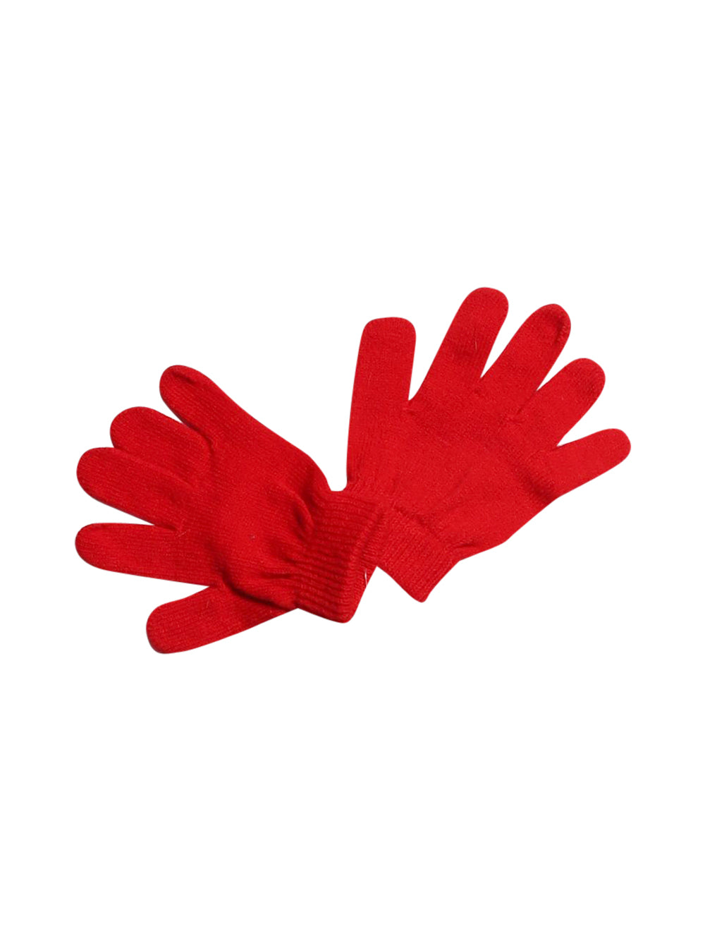 Front photo of Preloved Disney Red Girl's gloves - size 2-3 yrs