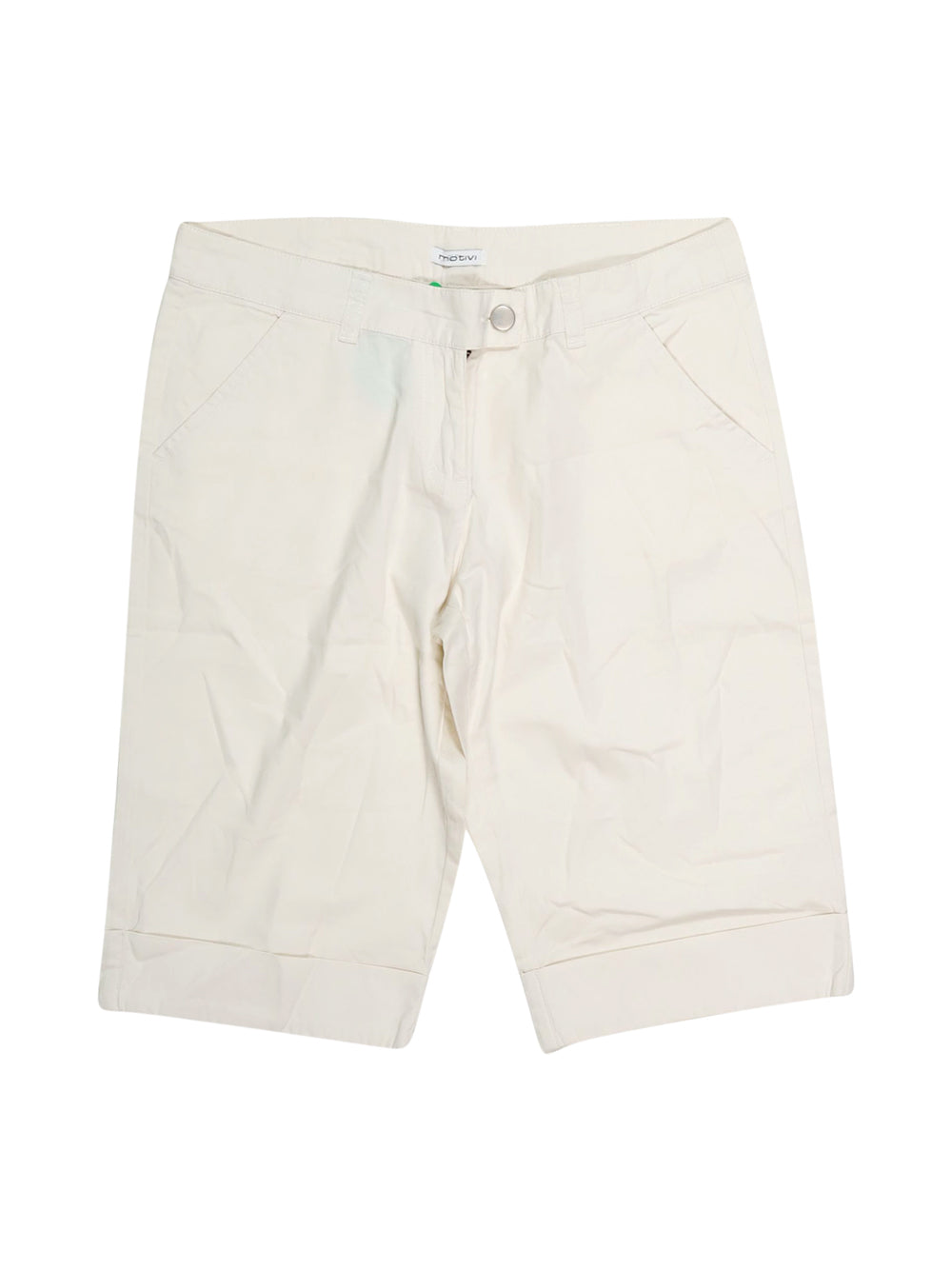 Front photo of Preloved Motivi White Woman's shorts - size 10/M