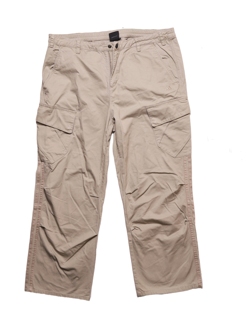Front photo of Preloved Adidas Beige Man's trousers - size 42/XL