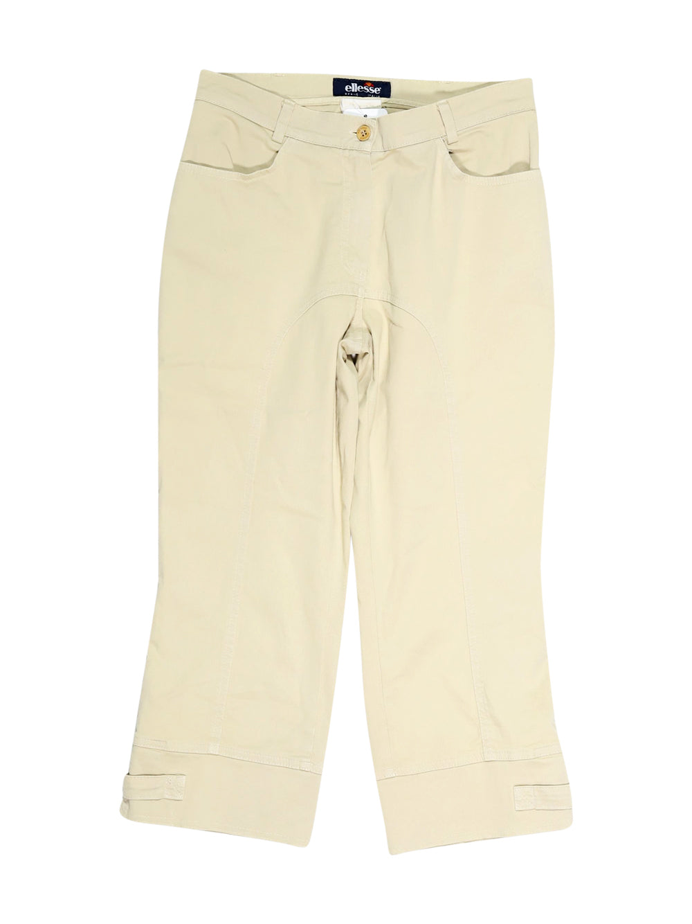 Front photo of Preloved Ellesse Beige Woman's trousers - size 8/S