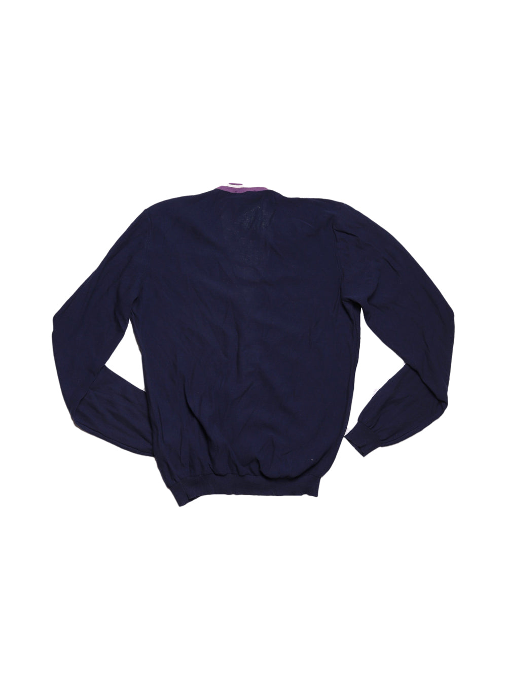 Back photo of Preloved Kaos Blue Woman's cardigan - size 12/L