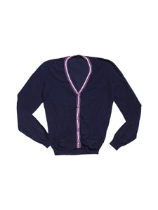 Front photo of Preloved Kaos Blue Woman's cardigan - size 12/L