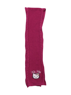 Back photo of Preloved Hello Kitty Pink Girl's scarf - size 9-10 yrs