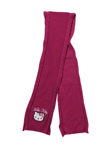 Front photo of Preloved Hello Kitty Pink Girl's scarf - size 9-10 yrs