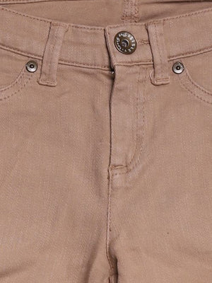 Detail photo of Preloved Sisley Beige Woman's trousers - size 8/S