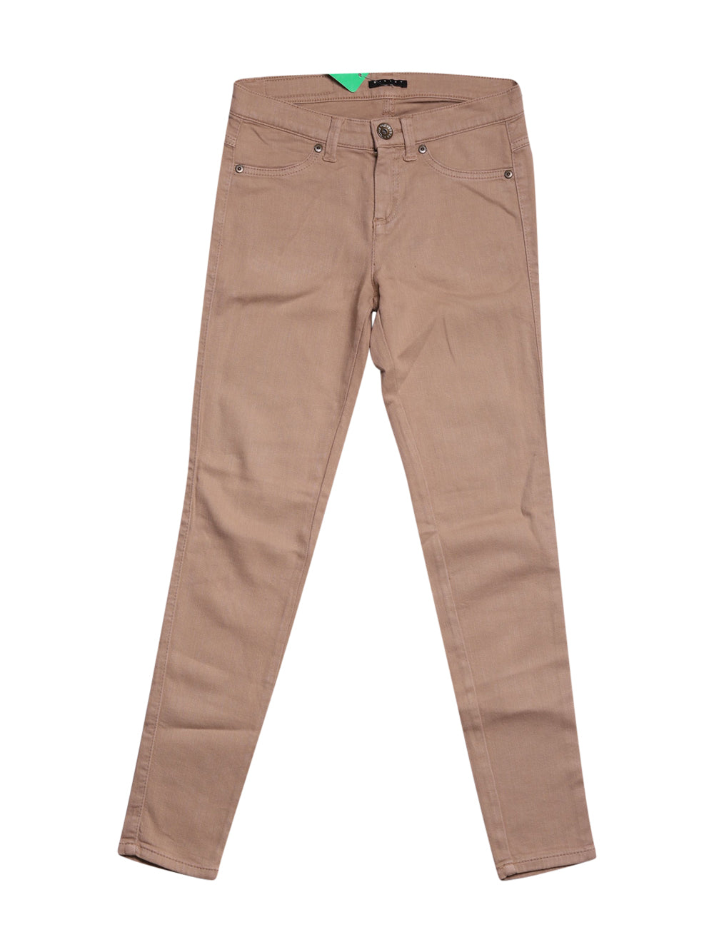 Front photo of Preloved Sisley Beige Woman's trousers - size 8/S