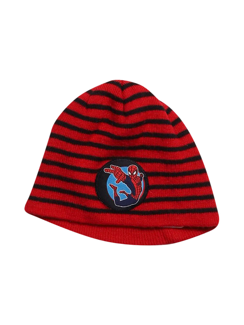 Front photo of Preloved Marvel Red Boy's hat - size 3-4 yrs