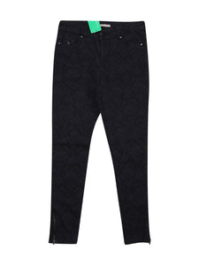 Front photo of Preloved ici et maintenant Black Woman's trousers - size 8/S