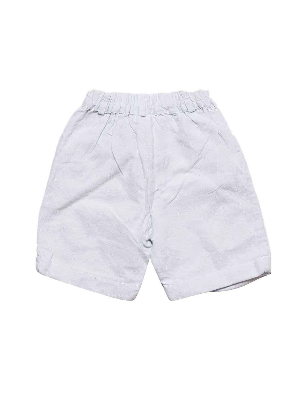 Back photo of Preloved Roberta Light-blue Boy's shorts - size 2-3 yrs