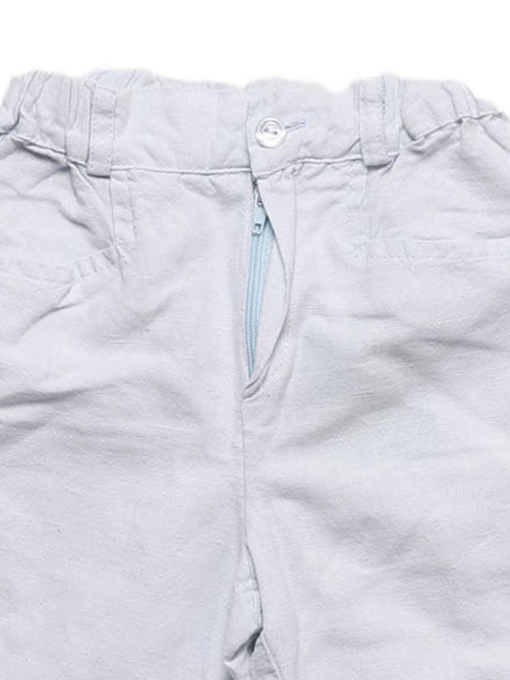 Detail photo of Preloved Roberta Light-blue Boy's shorts - size 2-3 yrs