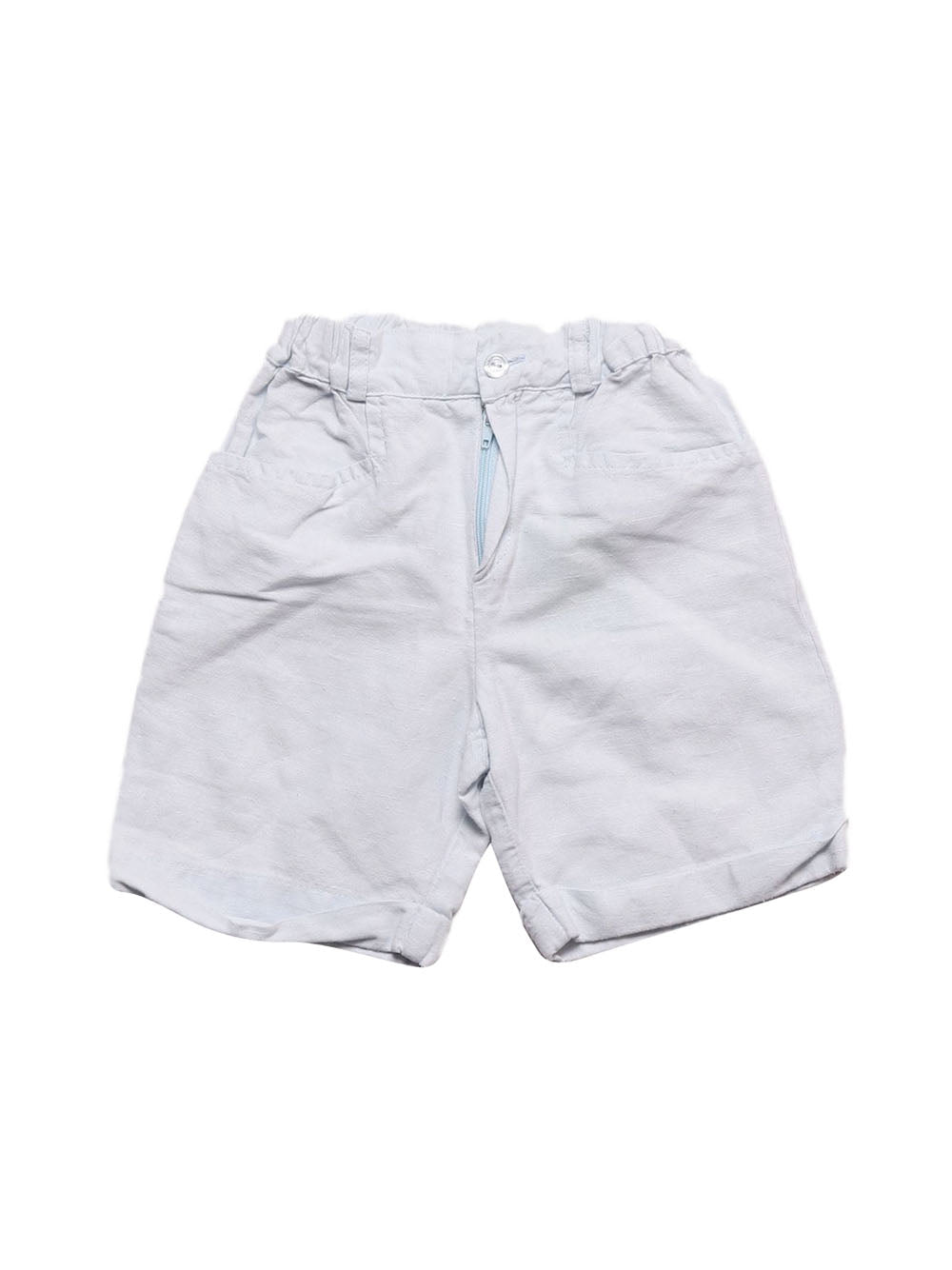 Front photo of Preloved Roberta Light-blue Boy's shorts - size 2-3 yrs