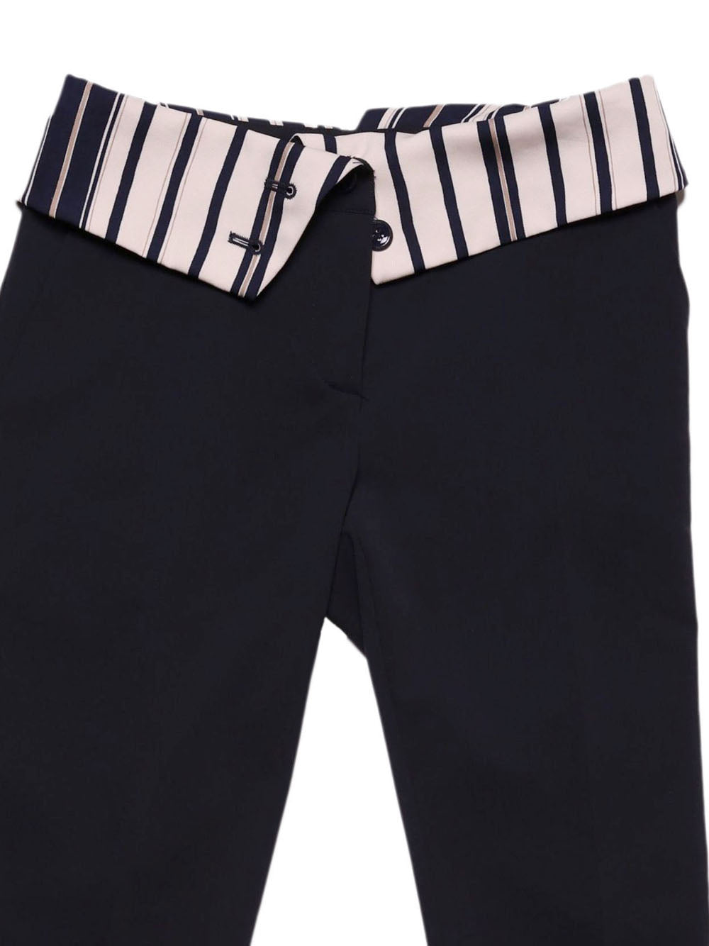 Detail photo of Preloved Paolo Casalini Blue Woman's trousers - size 8/S