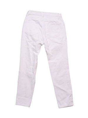 Back photo of Preloved denim collection White Woman's trousers - size 8/S
