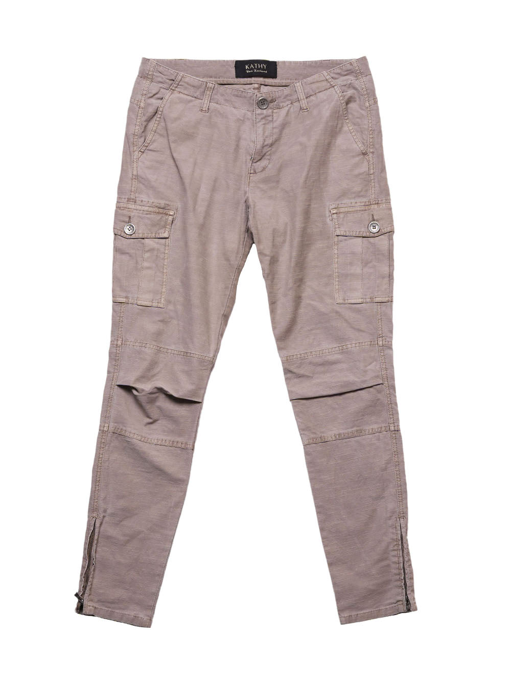 Front photo of Preloved kathy Grey Woman's trousers - size 10/M