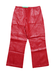 Front photo of Preloved jolie jolie Red Woman's trousers - size 10/M