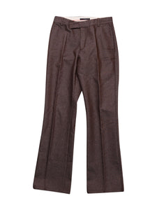 Front photo of Preloved Massimo Rebecchi Brown Woman's trousers - size 8/S
