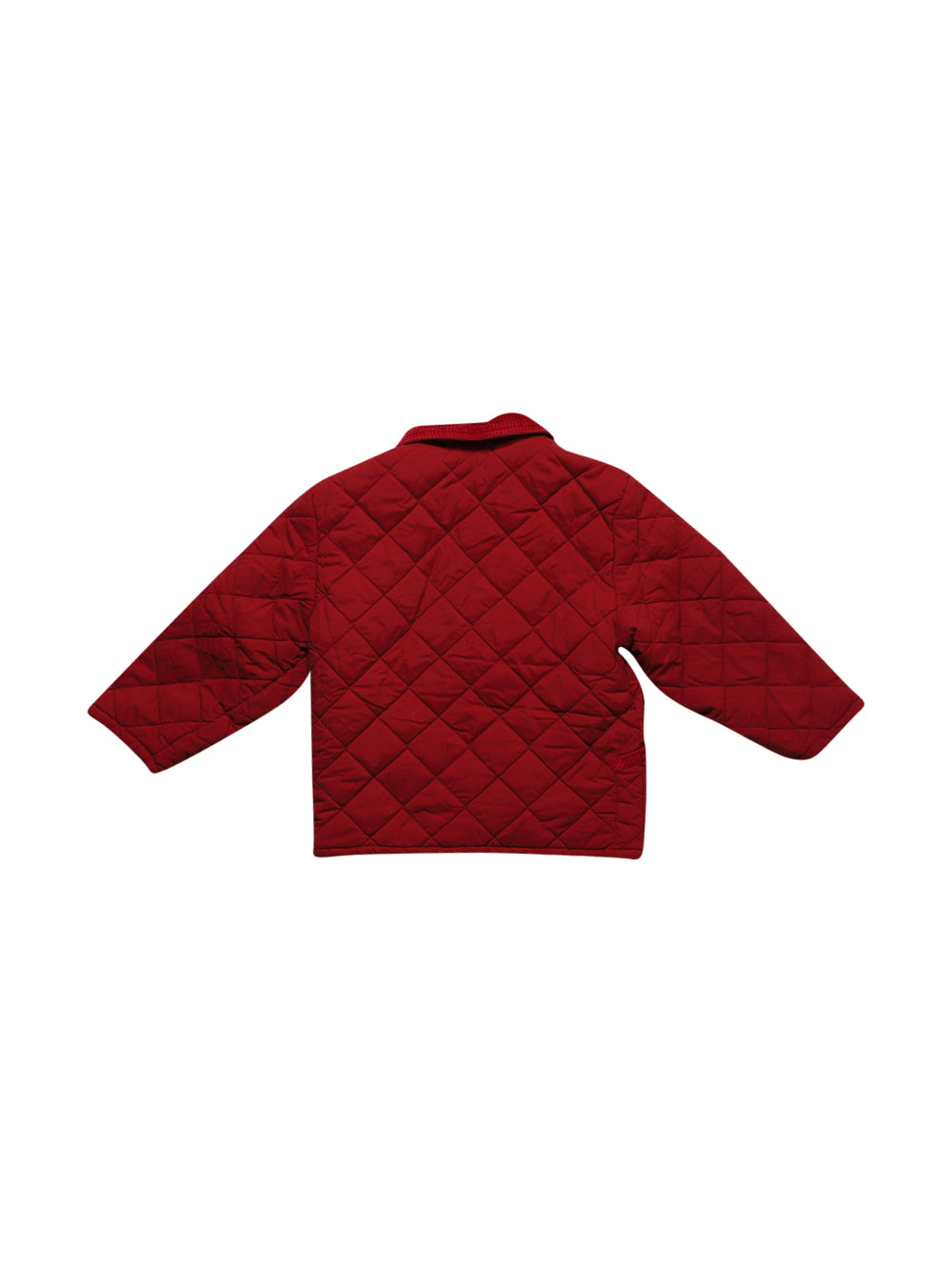 Back photo of Preloved Mauli Red Girl's jacket - size 5-6 yrs