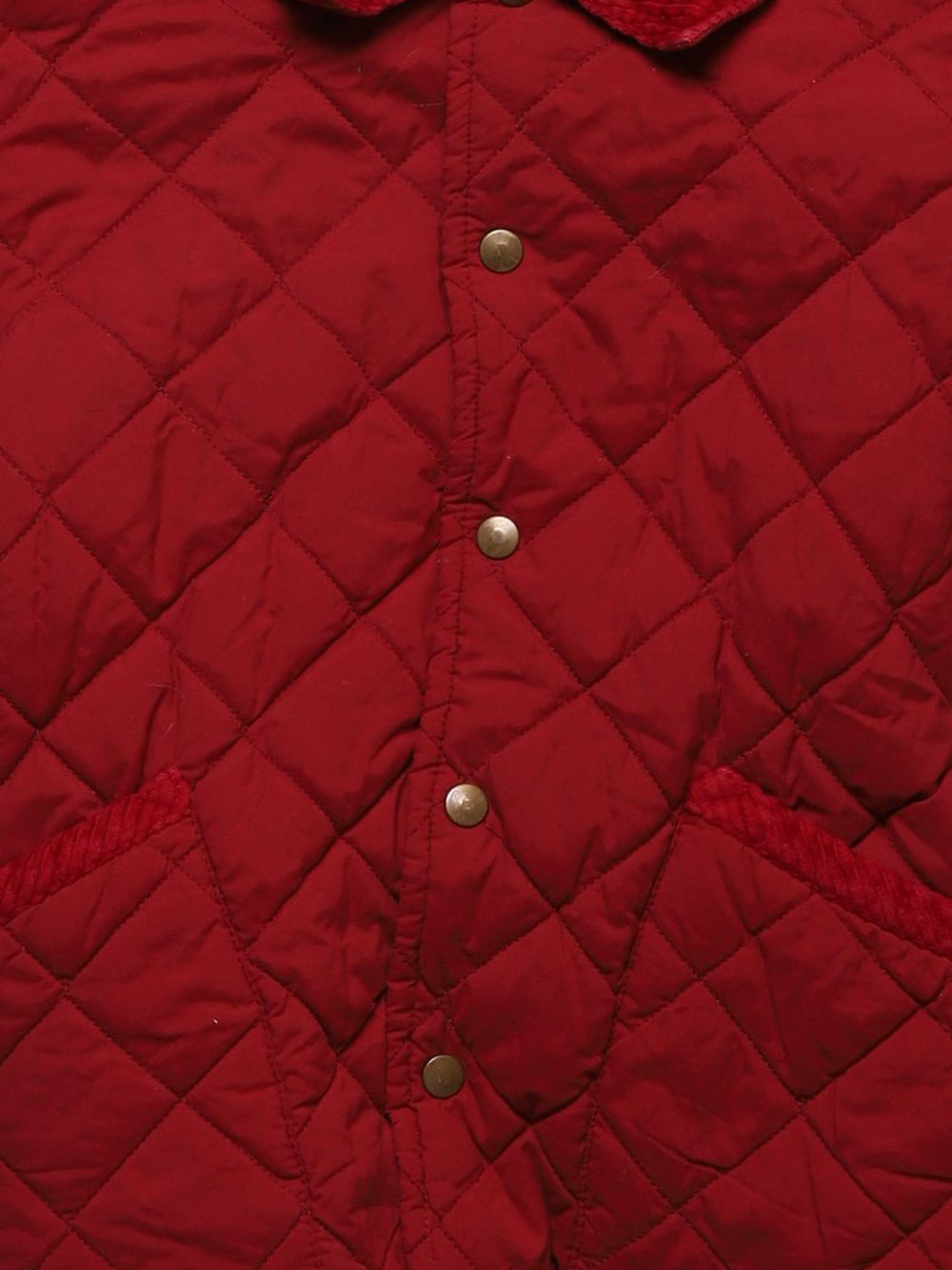 Detail photo of Preloved Mauli Red Girl's jacket - size 5-6 yrs