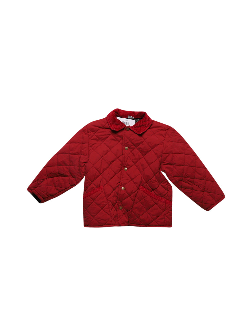 Front photo of Preloved Mauli Red Girl's jacket - size 5-6 yrs