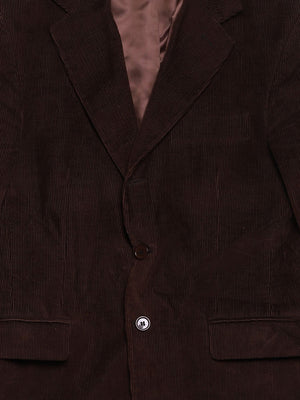 Detail photo of Preloved fb class Brown Man's suit - size 36/S