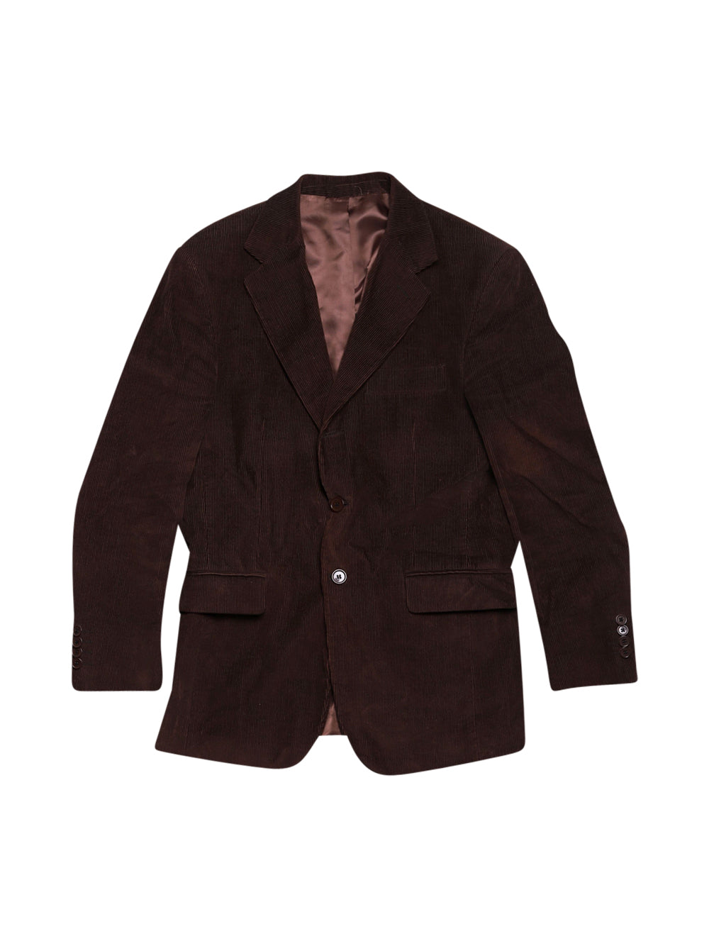 Front photo of Preloved fb class Brown Man's suit - size 36/S