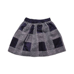 Back photo of Preloved Il Gufo Grey Girl's skirt - size 3-4 yrs