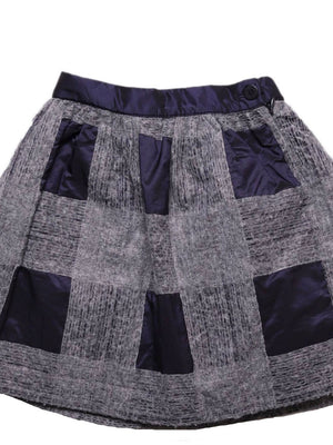 Detail photo of Preloved Il Gufo Grey Girl's skirt - size 3-4 yrs