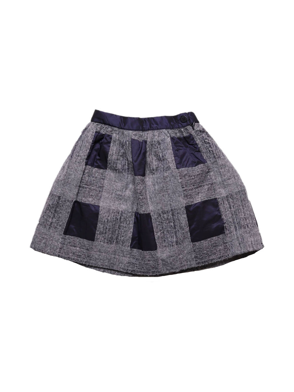 Front photo of Preloved Il Gufo Grey Girl's skirt - size 3-4 yrs