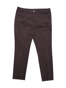 Front photo of Preloved Marella Brown Woman's trousers - size 12/L