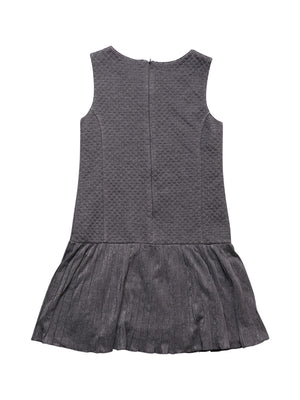 Back photo of Preloved Sarabanda Grey Girl's dress - size 10-12 yrs