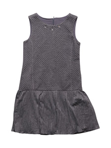 Front photo of Preloved Sarabanda Grey Girl's dress - size 10-12 yrs