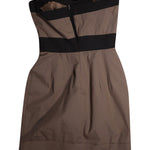 Back photo of Preloved Imperial Brown Woman's dress - size 6/XS