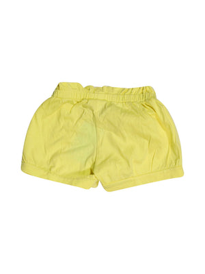 Back photo of Preloved msk Yellow Girl's shorts - size 4-5 yrs
