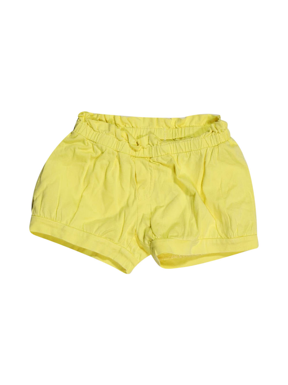 Front photo of Preloved msk Yellow Girl's shorts - size 4-5 yrs