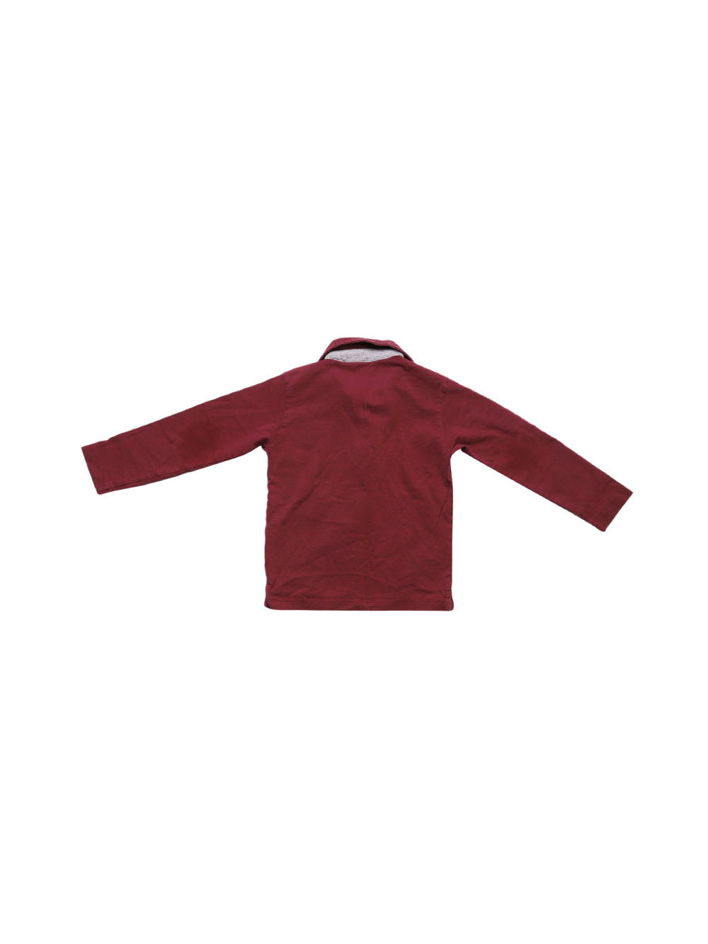 Back photo of Preloved magilla Bordeaux Boy's polo - size 2-3 yrs