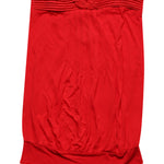 Front photo of Preloved Motivi Red Woman's sleeveless top - size 8/S
