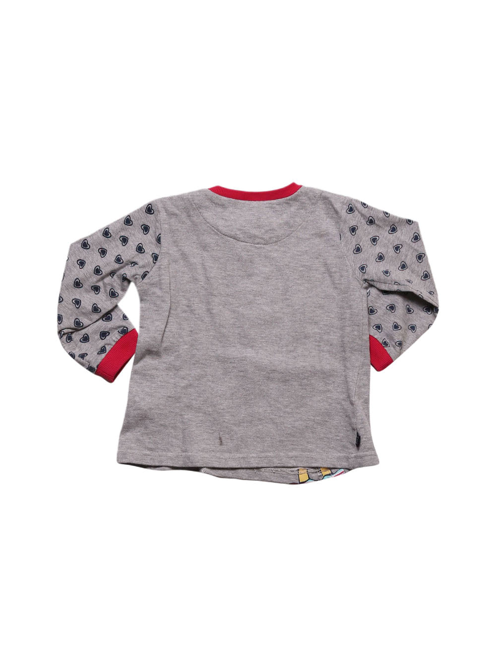 Back photo of Preloved North Pole Grey Girl's sweatshirt - size 12-18 mths