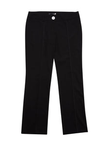 Front photo of Preloved Bisette Black Woman's trousers - size 16/XXL
